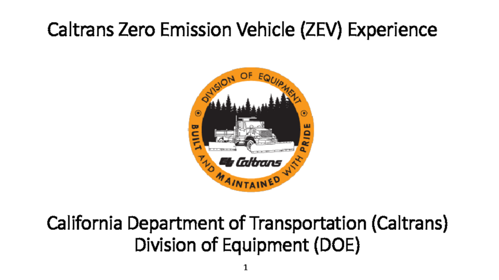 thumbnail of Larry Orcutt_Caltrans ZEV Experience March 2017