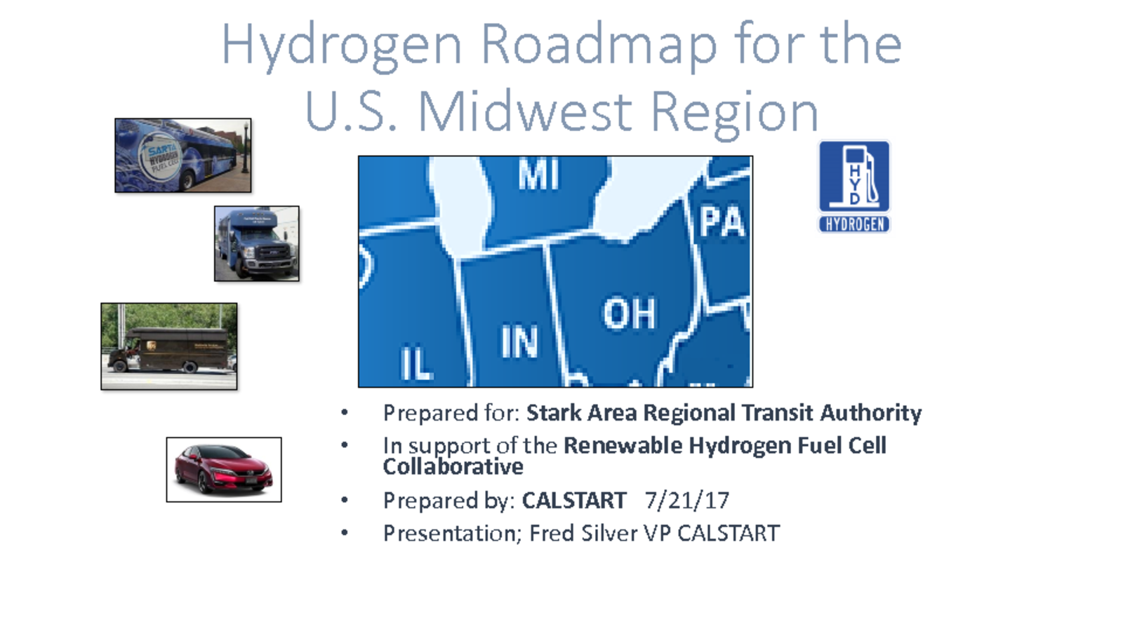 hydrogen roadmap for the u s midwest region