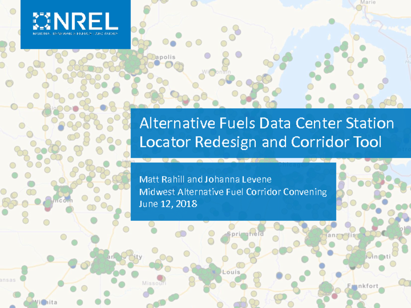 thumbnail of AFDC Stations and Corridor Tool
