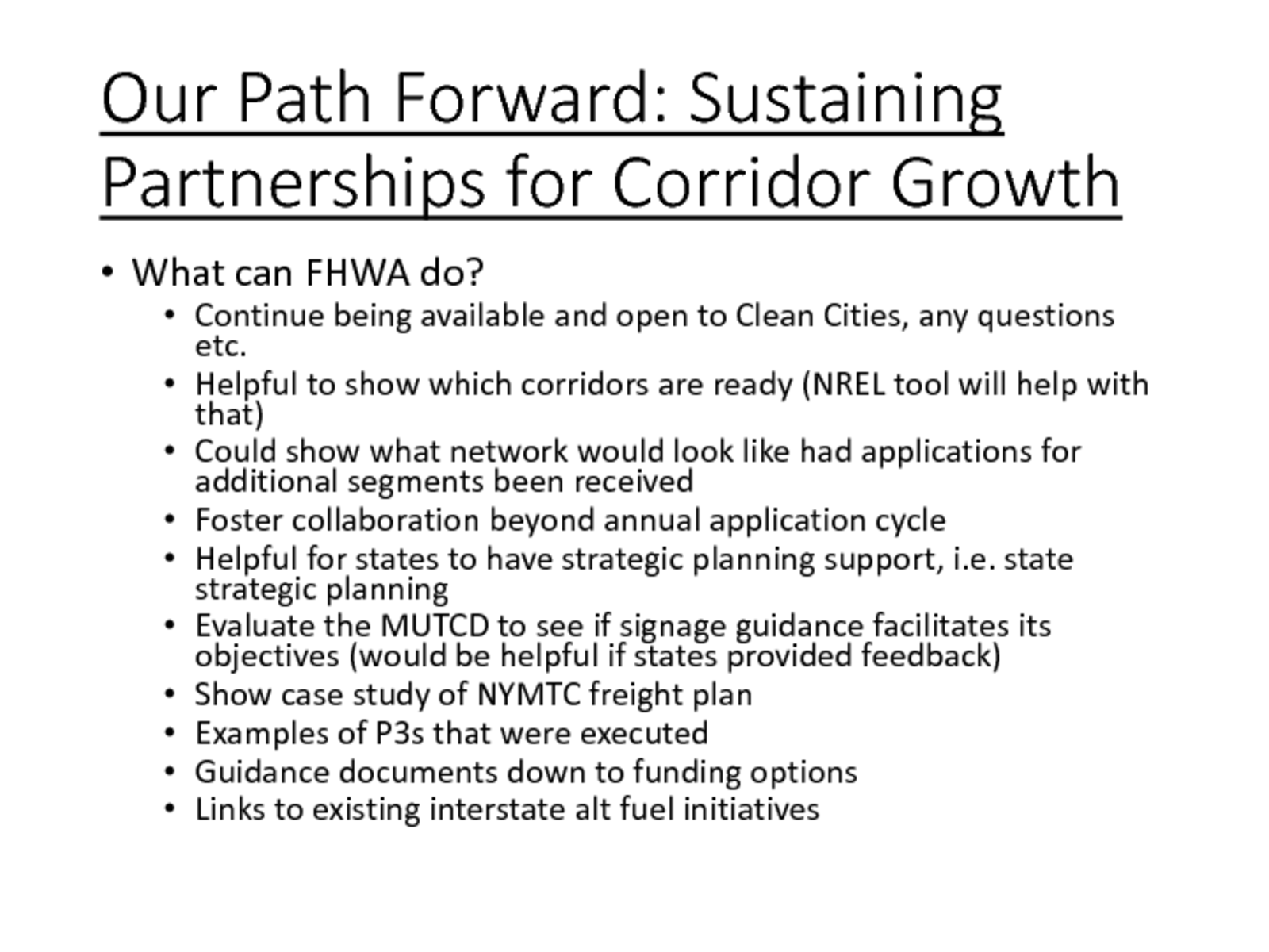 thumbnail of Our Path Forward